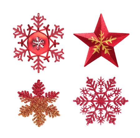 Decorazioni di Natale isolate on white background
