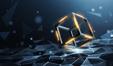 Blockchain on a data computation layer