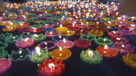 color: Wax lotus colors