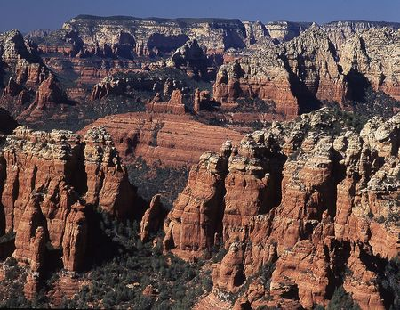 Oak Creek Canyon, Sedona, AZ  Foto de archivo - 2298316