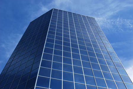 Glass office building photo