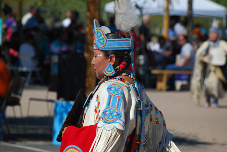pow wow: Ft Mcdowell, Arizona, April 5, 2014, USA Pow Wow celebration,editoria lFt McDowell Yavapai Nation celebrating pow wow with tribes from all over the US