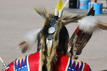 pow wow: Ft McDowell Yavapai Nation celebrating pow wow with tribes from all over the US Editorial