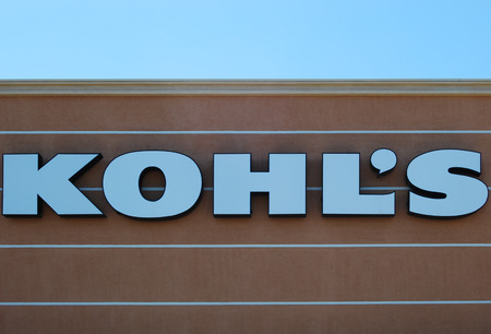 retail chain: Mesa, AZ, USA - August 6, 2014  Kohl s Department Store is an American retail chain founded in 1962   The company is headquarted in Milwaukee, Wisconsin with 1158 stores in 49 states  August 6, 2014