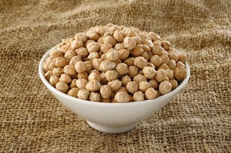 garbanzo bean: garbanzo bean on bowl