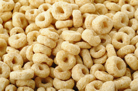 Whole grain cheerios cereal Фото со стока