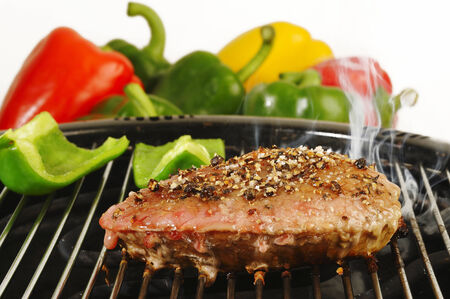 electric stove: Grill steak on an electric stove