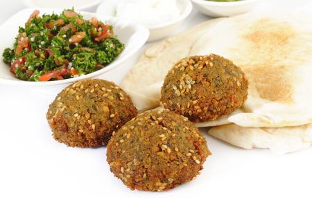 lebanese food: Lebanon Falafel Stock Photo