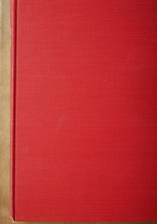 red old book photo