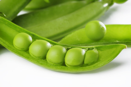 green pea: green pea Stock Photo