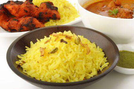 tandoori chicken: Chicken Tikka Masala , Tandoori chicken tikka with pilau rice