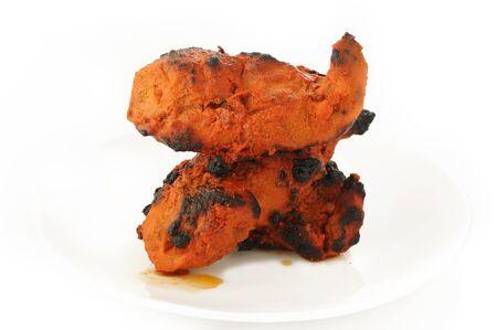 tandoori chicken: Tandoori chicken tikka