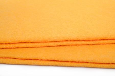 microfiber cloth: microfiber cloth Stock Photo