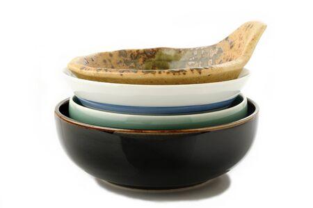 bol vide: Empty bowl on white background