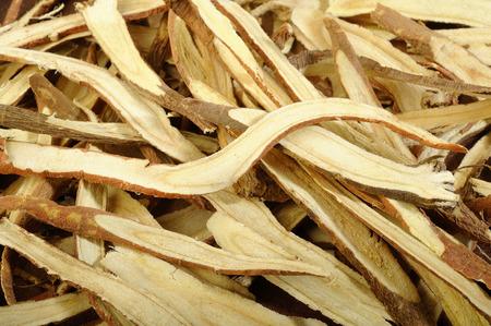 liquorice: dried liquorice roots