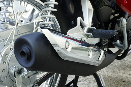 footrest: intake  motorcycle