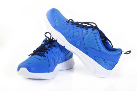 sport shoes on white background Reklamní fotografie