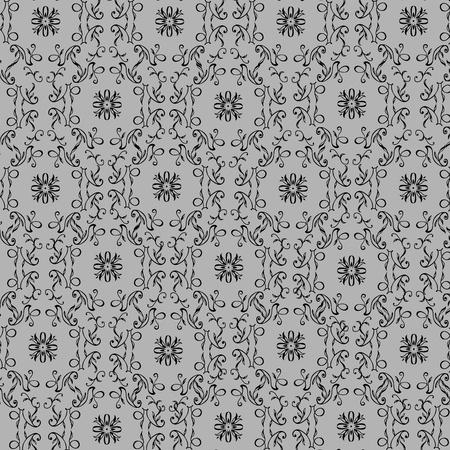 アール ヌーボー様式のパターンの背景