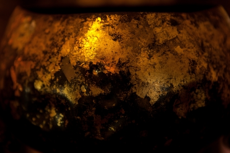 Gold leaf texture Stock Photo - 17242485