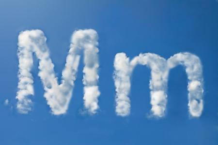 m font clouds