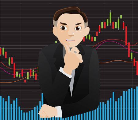 investor: investor vector Illustration