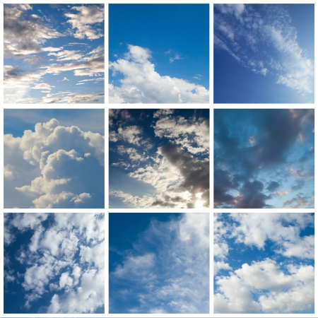 Nine types of sky