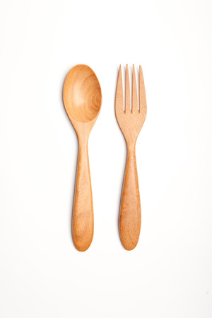 wooden Spoon and fork Imagens - 22519875