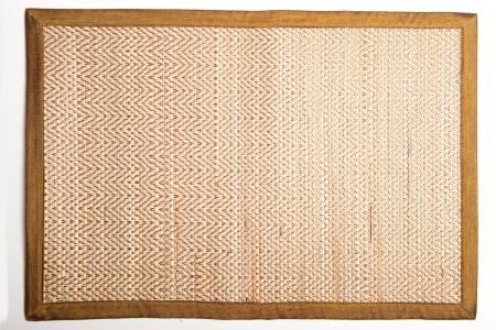 straw mat: Wooden mat