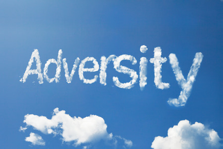 adversity: adversity cloud word