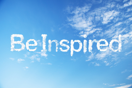 Be inspired cloud word