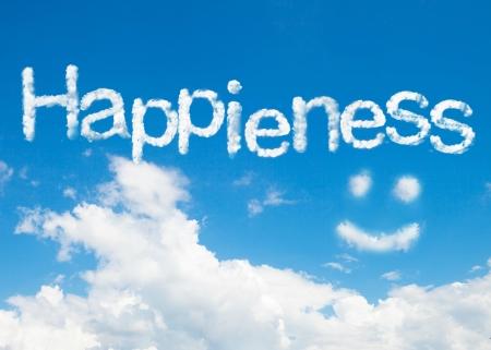 happieness: happieness cloud word