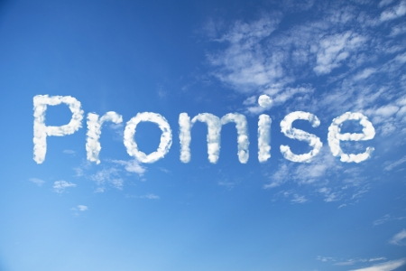 promise cloud word