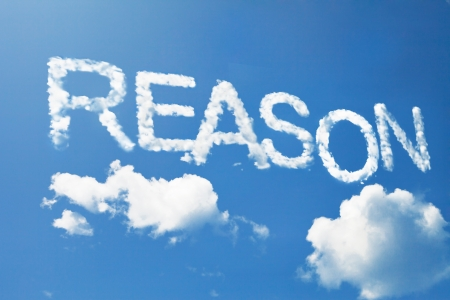 Reason cloud word