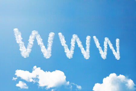 Enjoy a cloud word on sky photo