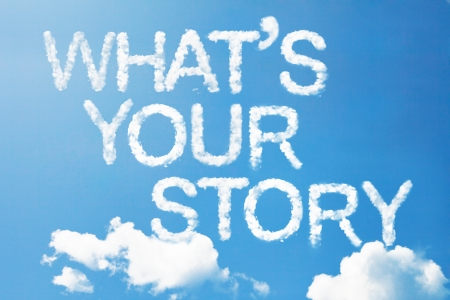 What's your story a cloud massage on sky