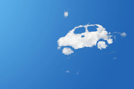 Cloud car shape