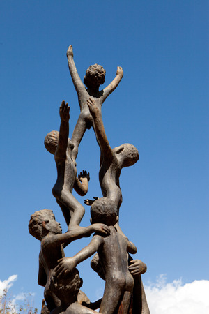 hope children statue photo