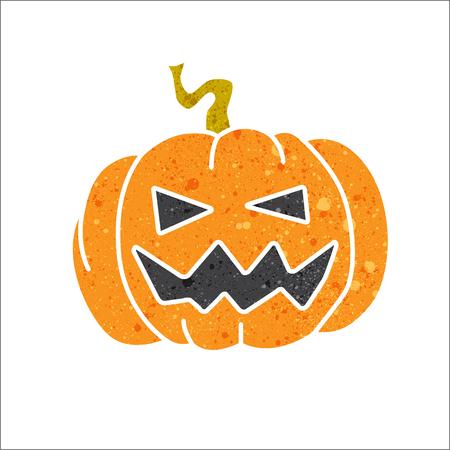 haloween: haloween pumpkin pumpkin with beautiful texture. Illustration