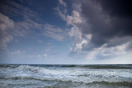 Stormy Black Sea near Betta. Krasnodar region. Russia Stock Photo - 4619367