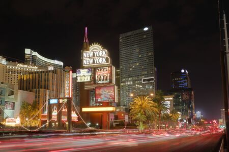 Las Vegas strip in Motion