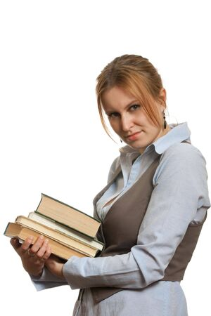 univercity: Girl in library