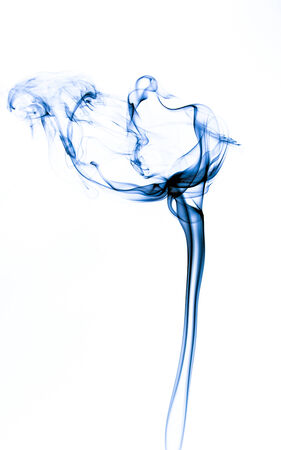 colorful smoke with white back ground