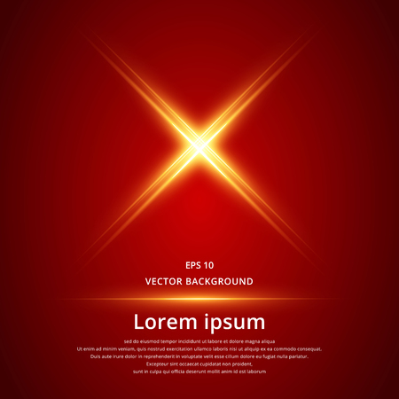 vector x symbol electric laser technology, extreme red background