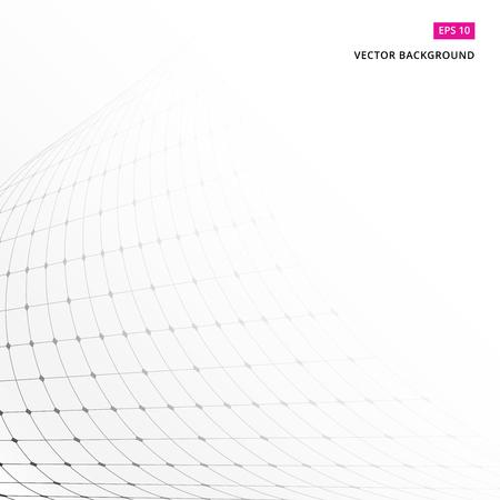 Vector patroon. Moderne stijlvolle textuur. Herhalende geometrische tegels met gestippeld ruitperspectief Stock Illustratie