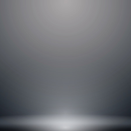 Abstract luxury dark grey and black gradient with lighting background Studio backdrop.