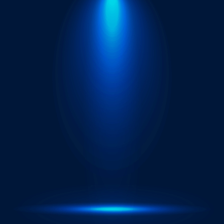 Abstract luxury blue gradient with lighting background.