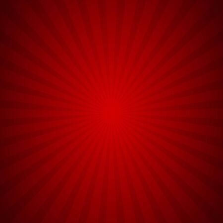 sunburst background red ray texture graphic, Vector Illustration