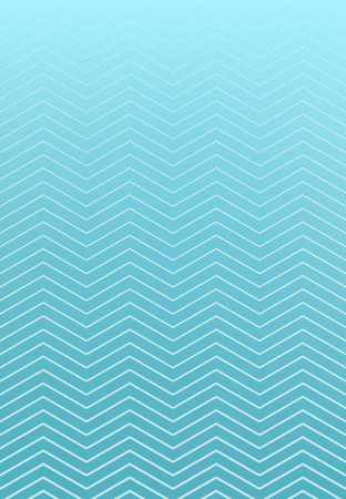 Abstract striped wavy lines pattern on blue background, vector illustration Illustration