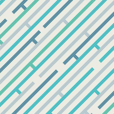 Modèle abstrait avec des rayures diagonales sur fond de texture dans des couleurs rétro. Modèle sans fin peut être utilisé pour impression, publicité, magazine, brochure, dépliant, affiche, livre, fond d'illustration vectorielle.