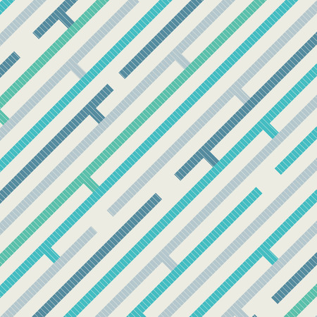 Abstract pattern with diagonal stripes on texture background in retro colors. Endless pattern can be used for print, ad, magazine, brochure, leaflet, poster, book, Vector illustration background.